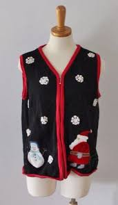 ugly christmas sweater women men m snowflake nordic liz claiborne
