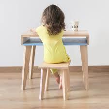 bureau bébé bois paulette et sacha objets eco design made in