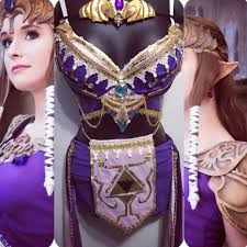 princess zelda rave bra rave wear festival cosplay