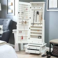jewelry box wall mounted cabinet white jewelry armoire mirror jewelry cabinet organizer storage wall