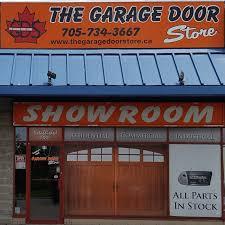 Overhead Door Store The Garage Door Store Barrie Gds Overhead Doors The Garage