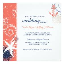 coral wedding invitations coral wedding invitations announcements zazzle