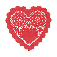 heart shaped doilies amscan 10 in s day paper heart shaped doilies 12