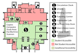 Computer Lab Floor Plan Building Directory Lamar University