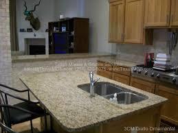 kitchen bar giallo ornamental granite countertops santa
