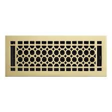 Decor Floor Registers Honeycomb Brass Wall Register Registers Hardware