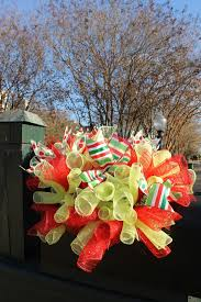 halloween deco mesh wreath ideas miss kopy kat curly deco mesh mailbox topper