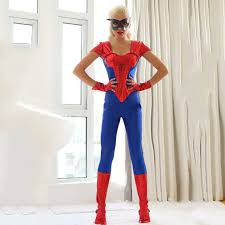 aliexpress com buy blue spider woman halloween costume