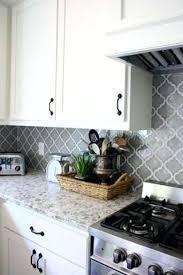 backsplash for white kitchen cabinets light gray backsplash kitchen kitchen black white cabinets light