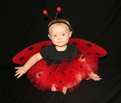 Halloween Costume Ladybug Ladybug Red Black Custom Boutique Tutu Baby Toddler 0 12mo 1