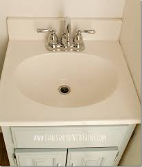How To Change A Faucet In The Bathroom How To Paint A Sink