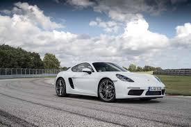 porsche 2017 white 2017 porsche 718 cayman reviews and rating motor trend