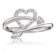 925 sterling silver v shaped heart promise ring size 5 6 7 8 9 10 heart arrow diamond ring in sterling silver must haves