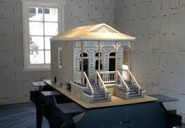 Shotgun House Design Exhibit Illustrates Advances In Prefab House Design Lubbock
