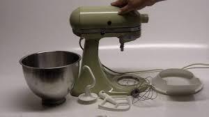 Kitchenaid Classic Mixer by Kitchenaid K45 Stand Mixer Youtube