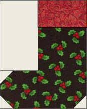 free christmas wreath patchwork quilt pattern and tutorial