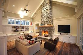 Cathedral Ceilings In Living Room Vaulted Ceiling Fireplace Image Living Room Cathedral Ceiling