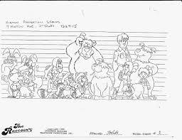 this bentley is bonkers beautiful chris sobieniak u0027s comics u0026 stories the raccoons model sheets 1986
