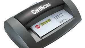 Cardscan Personal Business Card Scanner V9 Cardscan Executive 700c Review Cnet