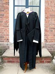 master s gown and academic dress of the of manchester