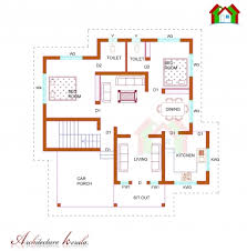 Kerala Home Plan Single Floor Stylish Single Floor House Plan 1000 Sq Ft Kerala Home Design And