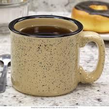 santa fe campfire mug sand beige ceramic coffee mugs