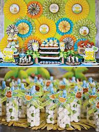 Lion King Baby Shower Cake Ideas - jungle theme baby shower colorful jungle theme baby shower ideas