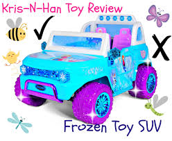 frozen power wheels sleigh disney toy suv youtube