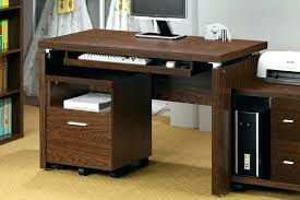 Small Wood Computer Desk With Drawers Small Solid Wood Desk Computer Computer Desk Solid Wood Pallet