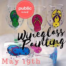 wine glass painting wine glass painting party langley bc zealous art and painting