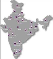 Hyderabad India Map by Ikya Branch Network Offices Ikya Global Human Capital