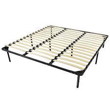 slatted bed frames slatted base linen single metal frame with