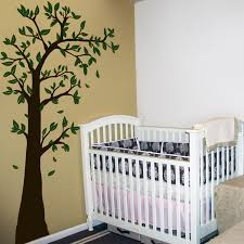 Tree Decal For Nursery Wall Why Use Removable Wall Decals For Nursery Decorating Home Design