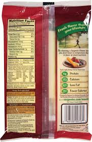 sargento light string cheese calories frigo string cheese nutrition facts swiss cheeses