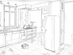 dessiner en perspective une cuisine dessiner en perspective une cuisine dessiner en perspective une