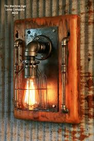 Barn Wall Sconce with Steampunk Wall Art Steampunk Ceiling Light Minnesota Steampunk