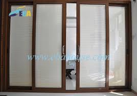 Patio Door Venetian Blinds Best Sliding Glass Doors With Built In Blinds With Sliding Door