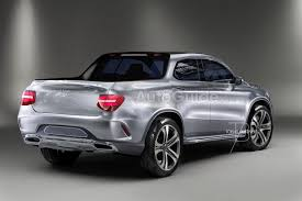 a mercedes benz glt pickup truck is coming in 2017 according to a