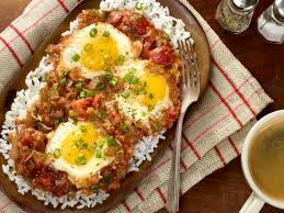 cajun cuisine cajun tomato gravy with eggs recipes cooking channel recipe