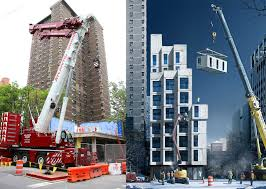 8 unit apartment building plans nyc u0027s adapt carmel place prefab micro apartments begin to rise in