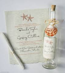 message in a bottle wedding message in a bottle wedding invitations casadebormela