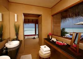 Beautiful Holiday Retreat Anantara Dhigu Resort In Maldives - Resort bathroom design