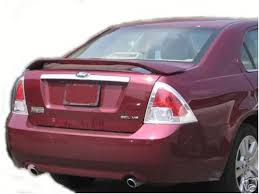 accessories fusion painted rear spoiler for 2006 2007 ford