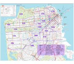 Map Of San Francisco Neighborhoods by San Francisco General Service District 6