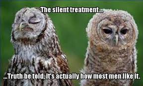 Silent Treatment Meme - the silent treatment memes and comics