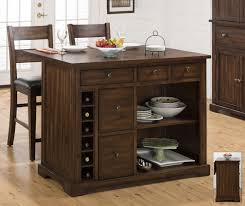 kitchen island with expandable drop leaf table top by jofran