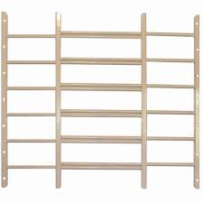 Basement Window Security Bars by Grisham Awg 6 Bar Window Guard In White 96922 The Home Depot