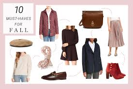 10 items for the perfect fall wardrobe gal meets glam