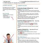 Resume Good Example by Examples Of Good And Bad Cvs U2013 Cv Plaza Throughout Good And Bad