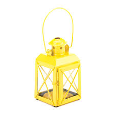 yellow railway candle lantern lamp wholesale at eastwind wholesale